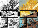 Wild Blue Yonder Issue 6 Page 11 Process