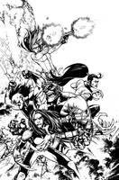 Wolverines #1 Cover Variant by Spacefriend-KRUNK