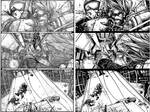 Wild Blue Yonder Issue 6 Page 16 Pencils and inks