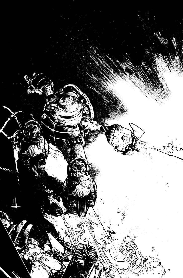 TMNT Variant Cover by Spacefriend-KRUNK