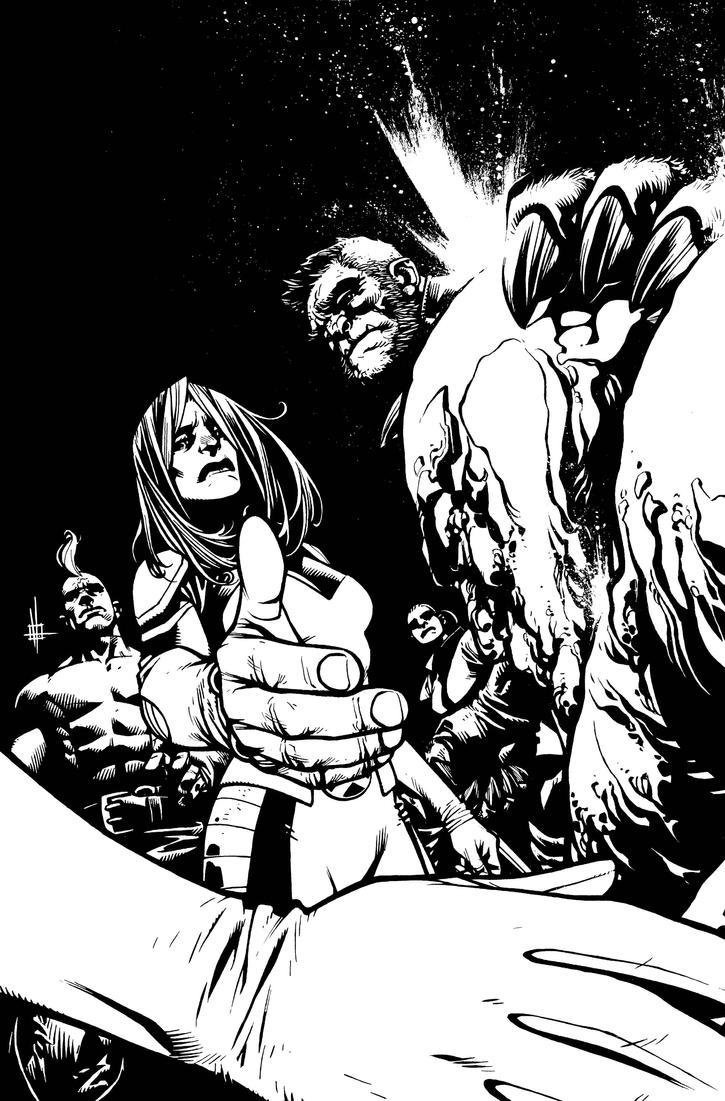 Wolverines Cover #20 Variant by Spacefriend-KRUNK
