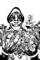 Street Fighter VS GI Joe cover by Spacefriend-KRUNK