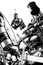 TMNT Deviations Cover Inks