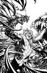 Venom: Spaceknight Cover #12 Inks
