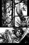 The Cape: Fallen Issue #2 page 21 inks