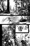 The Cape : Fallen Issue #3 Page 1 Inks