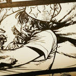 The Cape: Fallen Issue 4 panel crop inks 1f