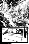 The Cape Fallen Issue 4 page 4 inks by Spacefriend-KRUNK