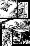 The Cape Fallen Issue 4 page 10 inks by Spacefriend-KRUNK