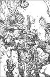 Hellboy: The Retun of Effie Kolb Cover2 pencils