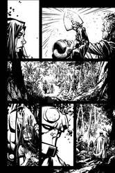 Hellboy: The Return of Effie Kolb #1 page 10 inks