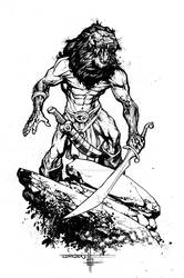Lion Man Concept Inks