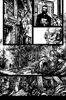 Hellboy: ROEF Issue1 Page 3 Inks