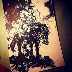 Conan - Buscema pencils with my inks