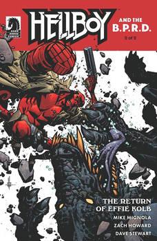 Hellboy: The Return of Effie Kolb #2 cover