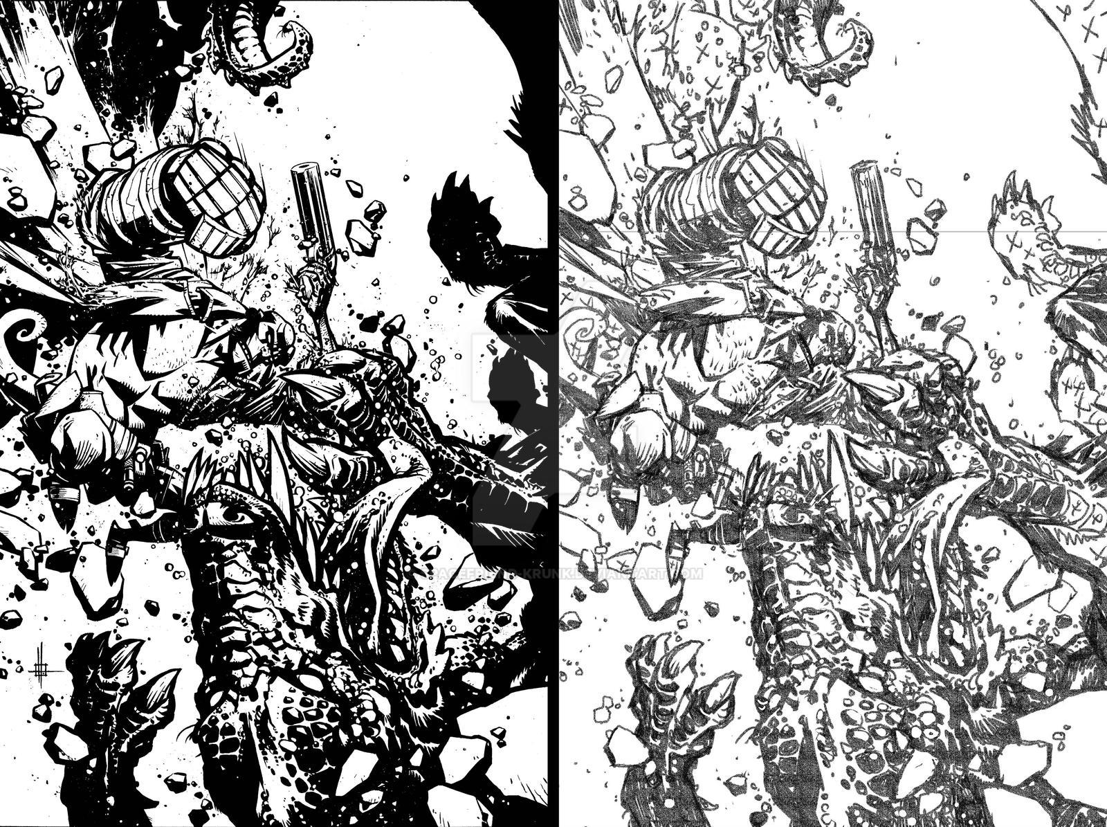 Hellboy The Return of Effie Kolb Issue 2 Cover