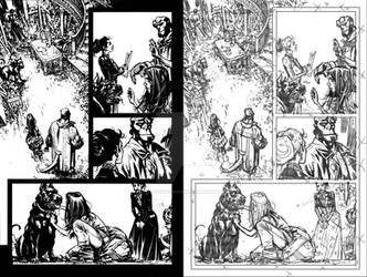 Hellboy: TROEK Issue1 page 18 combo