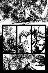 Hellboy Issue2 Page 5 Inks