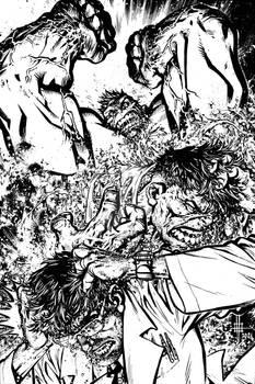 Hulk Commission 2021 inks