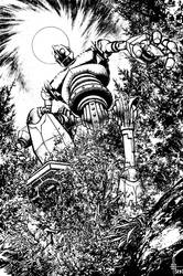 Iron Giant Commission inks