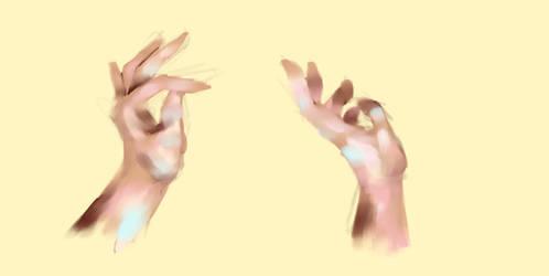 Hands by lolagagcece
