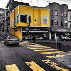 Follow the yellow brick road...