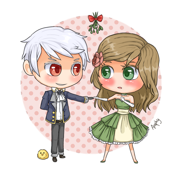 APH: mistletoe by Amphany