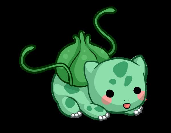 Chubby bulbasaur by Amphany