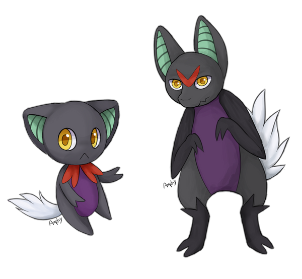 Fakemon: Velvux and Noirix