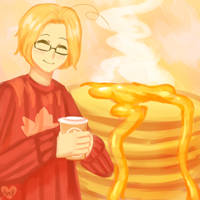 Coffee and Pancakes by Amphany