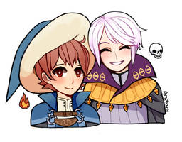 Mage pals by Amphany