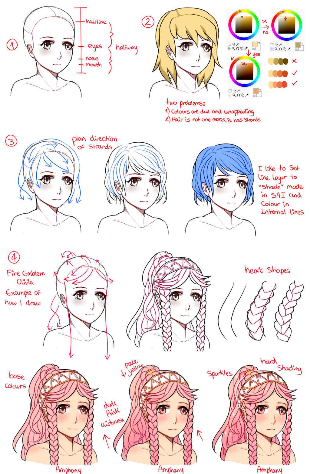 LauraHollingsworth 426 20 Female Hair Tutorial By Amphany