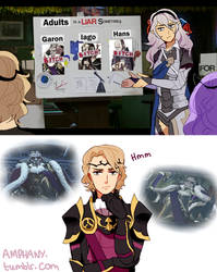 Xander is too loyal by Amphany