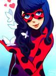 Long-haired Ladybug (Speedpaint!)