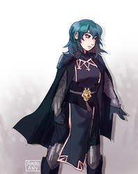 Fem Byleth: FIXED by Amphany