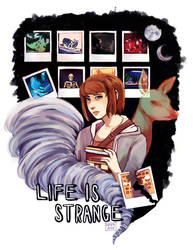 Life is Strange (SPEEDPAINT) by Amphany