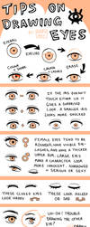 Tips on Drawing Eyes by Amphany