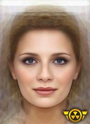Mischa Barton Face by MagikShot