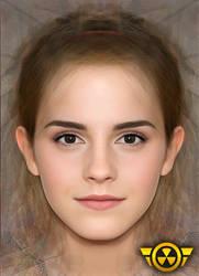 Emma Watson face by MagikShot