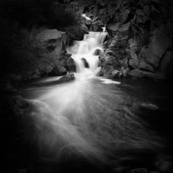 Gilmen Canyon Waterfall, Jemez New Mexico by scottsmith17