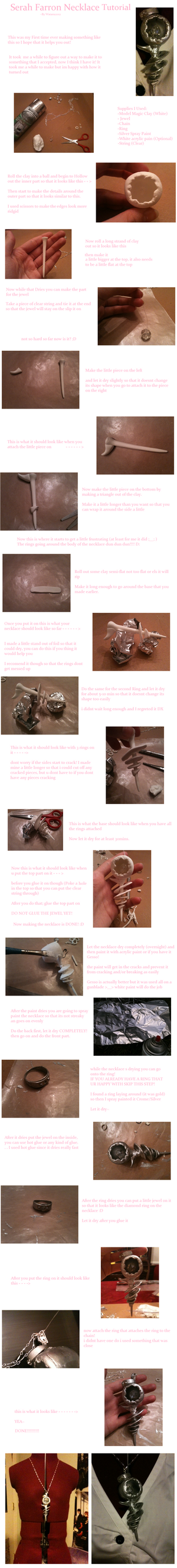 Serah Farron Necklace Tutorial by Wataru12012