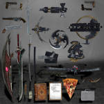 Devil May Cry 4 Weapons and Objects