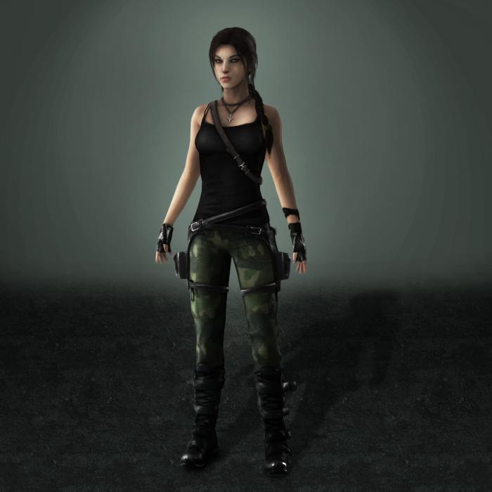 Tomb Raider Lara Croft Aod Reborn By Armachamcorp On Deviantart