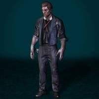 BioShock Infinite Booker DeWitt by ArmachamCorp