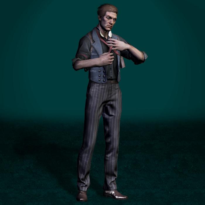 BioShock Infinite Booker DeWitt Mesh Mod by ArmachamCorp