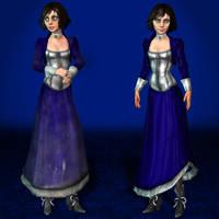 BioShock Infinite Elizabeth Corset by ArmachamCorp