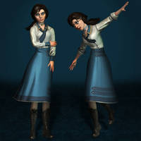 BioShock Infinite Elizabeth Student Clean by ArmachamCorp