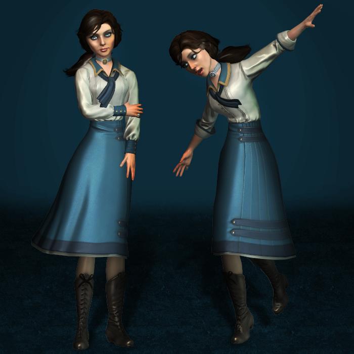 BioShock Infinite Elizabeth Student Clean