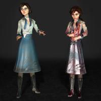 BioShock Infinite Elizabeth Student Damaged by ArmachamCorp