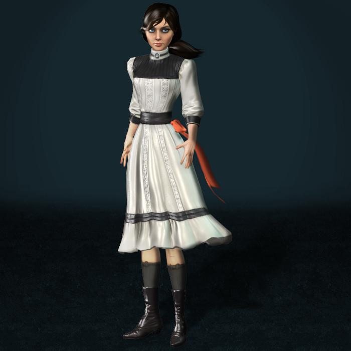 BioShock Infinite Elizabeth Young by ArmachamCorp